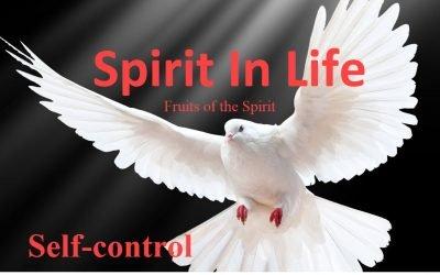 Spirit in Life: Self Control